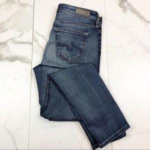 AG, Anthropologie•Stevie Ankle Jeans
